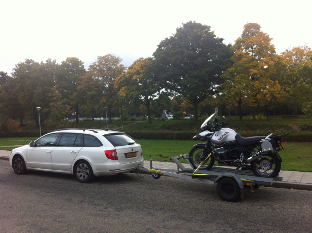 Een BMW R1150GS Adventure